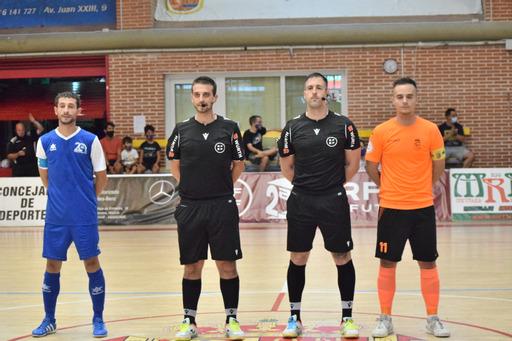 Manzanares Fútbol Sala Quesos El Hidalgo  vence a Móstoles en el primer amistoso de pretemporada (3-4)
