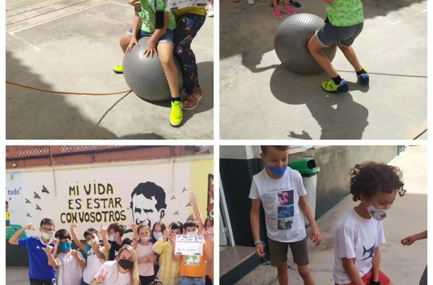 El Colegio de las Salesianas de Valdepeñas celebra el European School Sport Day #beactive