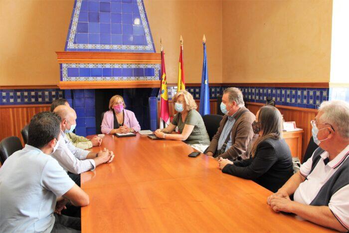 Reunión en la delegación de la junta