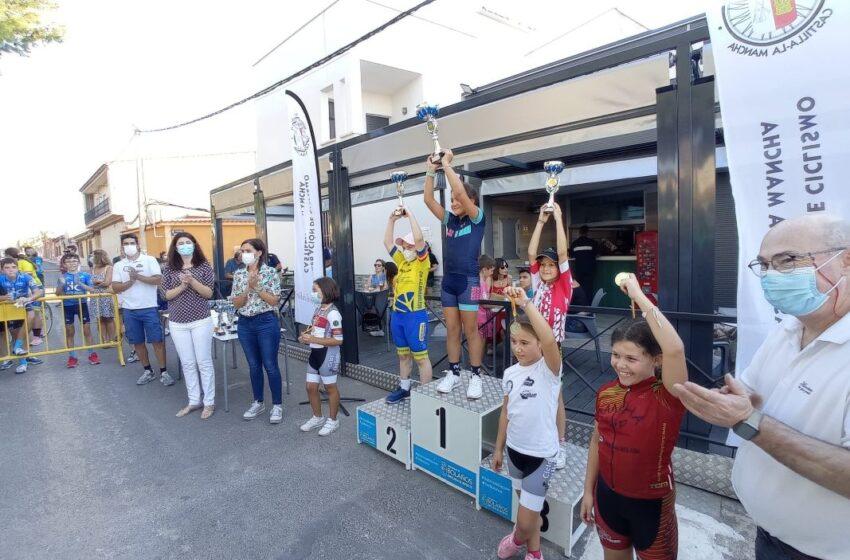 Bolaños de Calatrava se vuelca con los ciclistas escolares en la penúltima prueba del Trofeo Federación