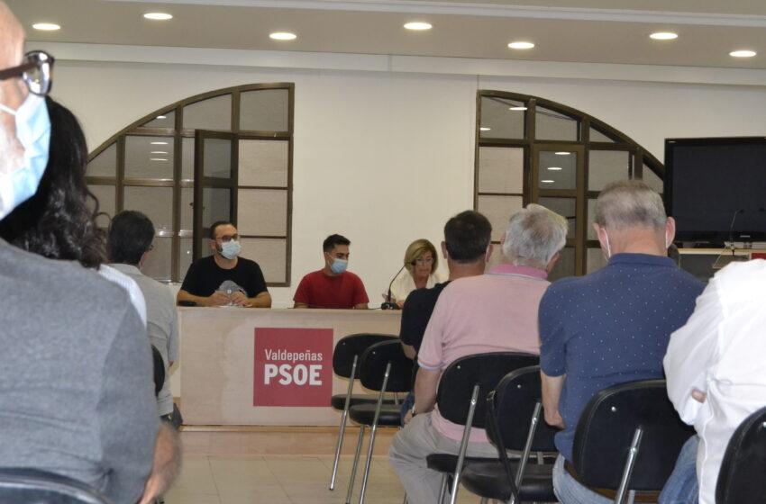 El PSOE de Valdepeñas retoma su actividad orgánica de forma presencial con la celebración de su asamblea ordinaria