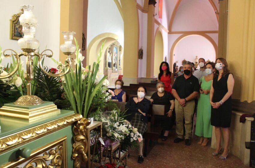 Blanca Fernández,  consejera de Igualdad y portavoz visita las Fiestas Patronales de Villanueva de la Fuente