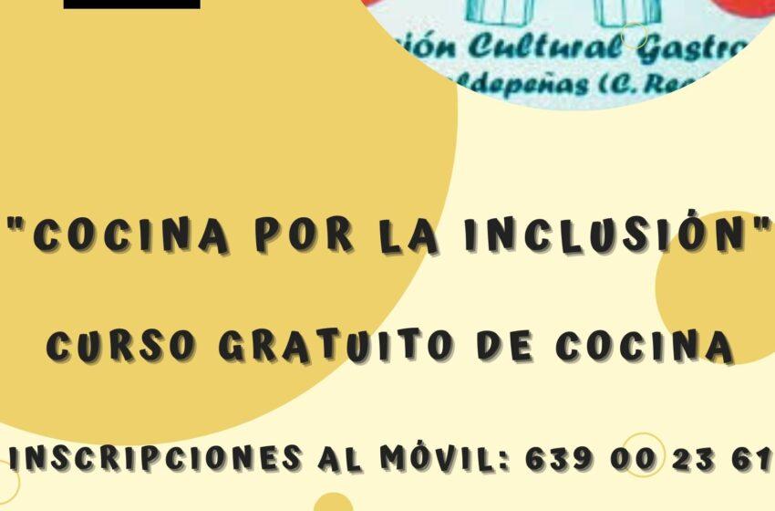 """Duelos y Quebrantos organiza el curso """"Cocina por la inclusión"""" en Valdepeñas"""