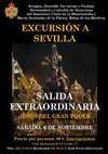 La Hermandad de Misericordia y Palma organiza una excursión a Sevilla para la Salida Extraordinaria del Gran Poder