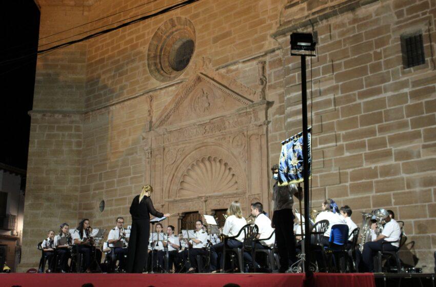 La Agrupación Musical Santa Cecilia ofreció un concierto en honor a los Patronos en el día de Nuestra Señora de la Antigua en Villanueva de los Infantes