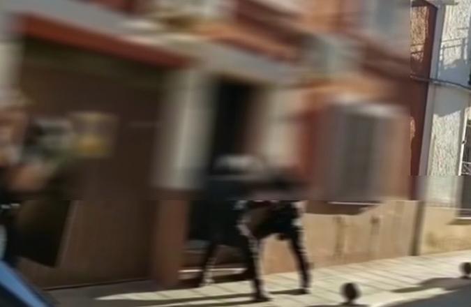 Un video filtrado por redes muestra la importante operación policial en Valdepeñas