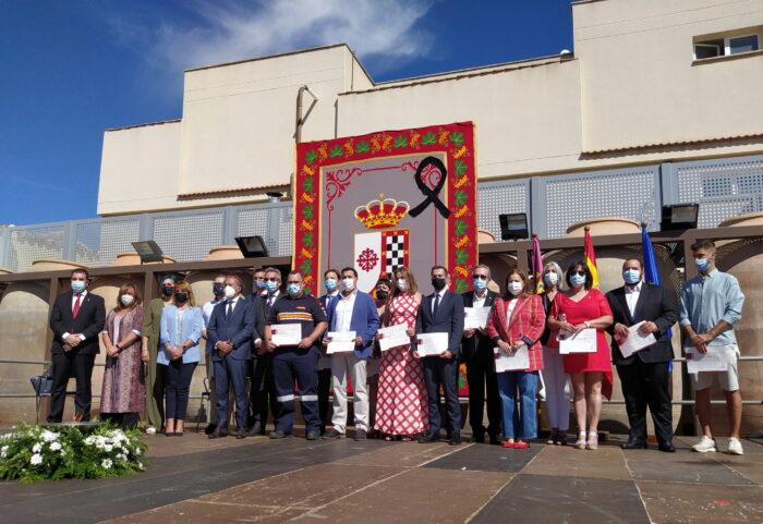 Acto en recuerdo a las víctimas de la Covid-19 y reconocimiento de colectivos