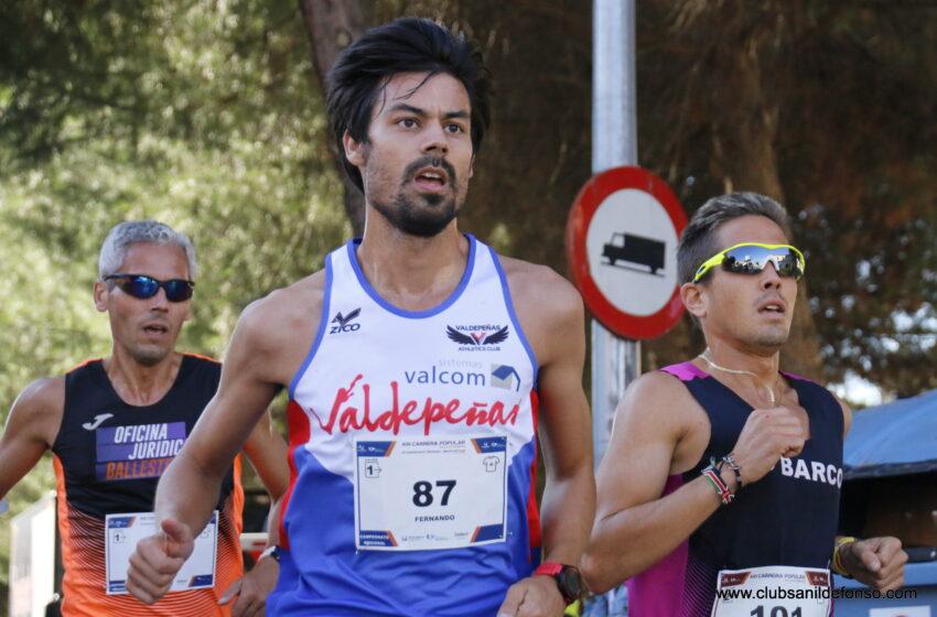 Fernando González-Mohíno Medalla de Bronce en el Regional de 10 km. en ruta