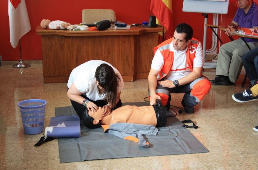 Cruz Roja fomenta el aprendizaje de primeros auxilios en el ámbito escolar