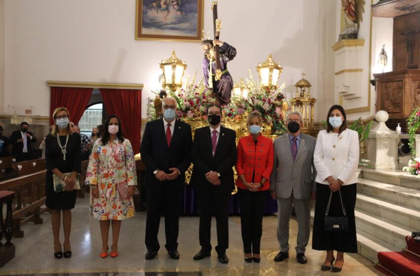 La función solemne en honor a Nuestro Padre Jesús del Perdón cierra los actos religiosos de las fiestas patronales de Manzanares