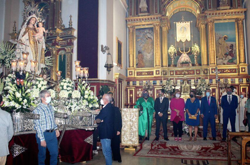 Olmedo felicita al pueblo de Herencia en sus fiestas de la Merced pero recomienda no relajar las medidas de seguridad ante el Covid