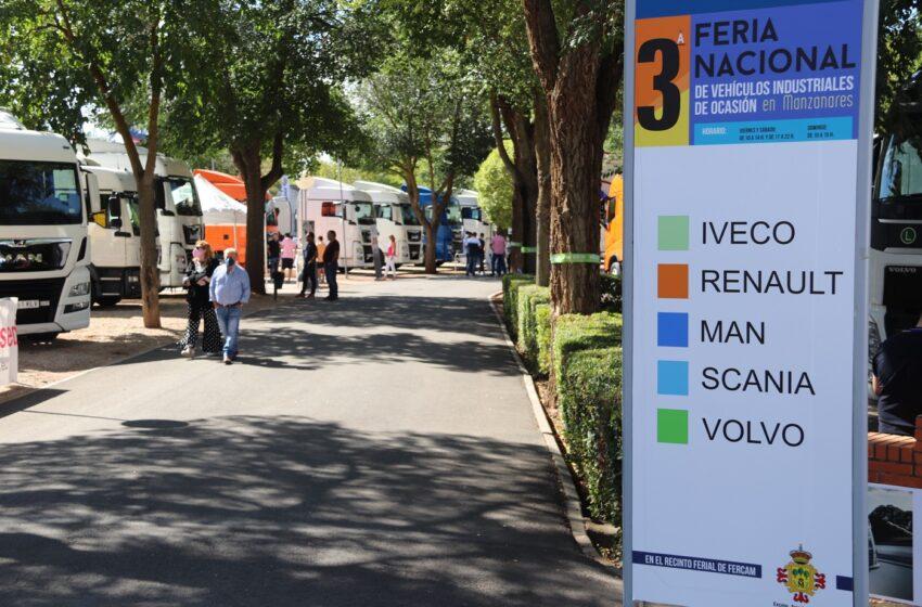 La 3ª Feria Nacional de Vehículos Industriales de Ocasión de Manzanares supera todas las expectativas