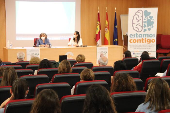 María Luisa Carcedo en las Jornadas de Alzheimer