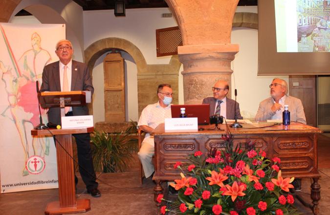 Las Jornadas conmemorativas del VI Centenario de la Universidad Libre de Infantes se clausuran con la tradicional ofrenda a Santo Tomás de Villanueva