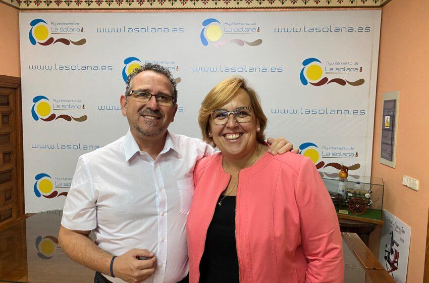 El Gobierno de CLM valora el trabajo de Luis Díaz- Cacho como alcalde de La Solana y le felicita por su nuevo cargo en el Gobierno de España