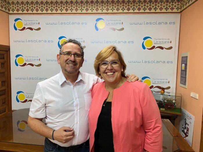 Luis Díaz- Cacho  y Carmen Olmedo