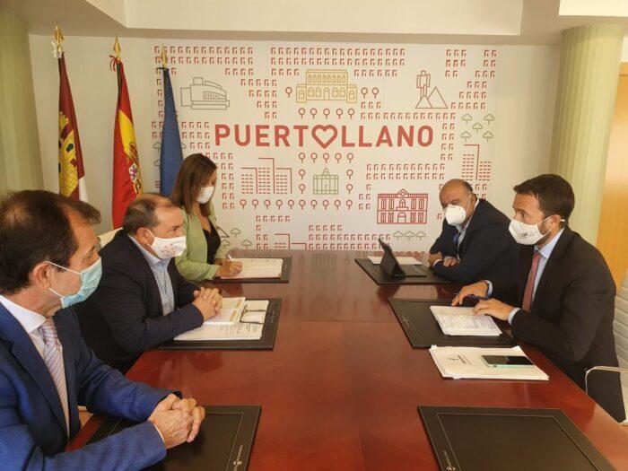 Reunión con el alcalde de Puertollano, Adolfo Muñiz, y visita al ISFOC y a la empresa NIMO