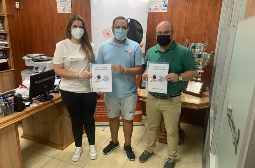 El Manzanares Fútbol Sala Quesos El Hidalgo  firma un convenio con la asociación VivELA