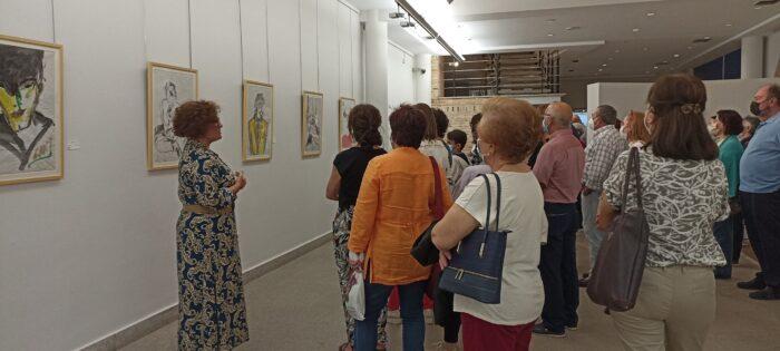Visita guiada a la exposición de Óscar García Benedí