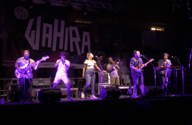 A7 acogió el concierto de Wahira