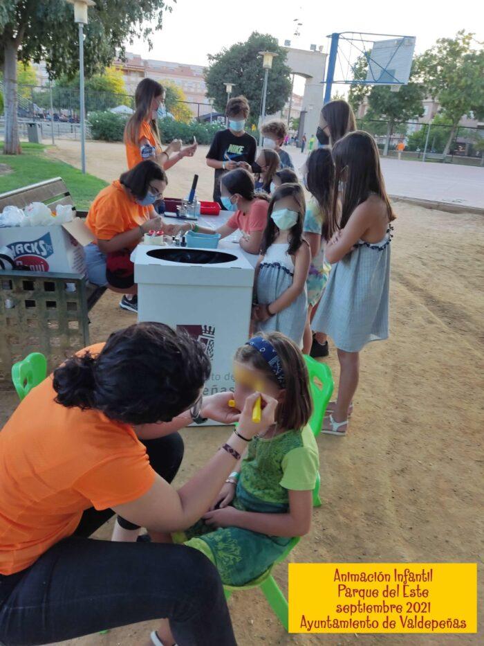 Animación infantil en el Parque del Este