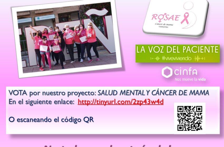 Vota por ROSAE en el proyecto «La Voz del Paciente» de Cinfa Laboratorios