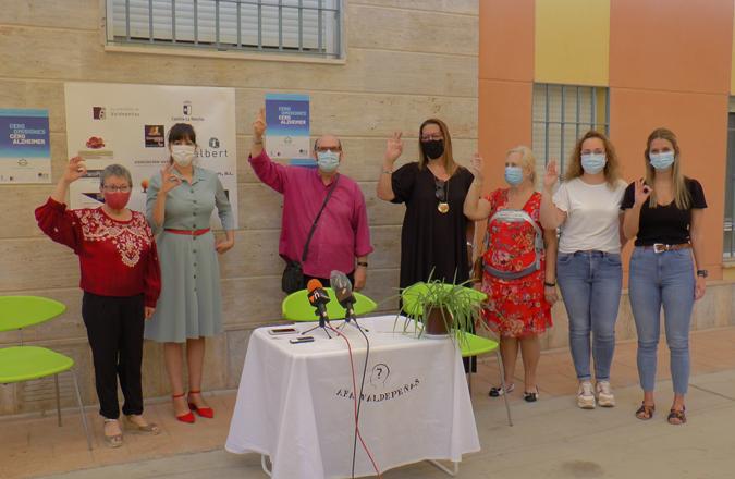 Bajo el lema 'Cero Omisiones, Cero Alzheimer' AFA Valdepeñas conmemora el Día Internacional del Alzheimer