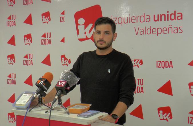 IU Denuncia la pérdida de calidad de la comida del servicio a domicilio en Valdepeñas