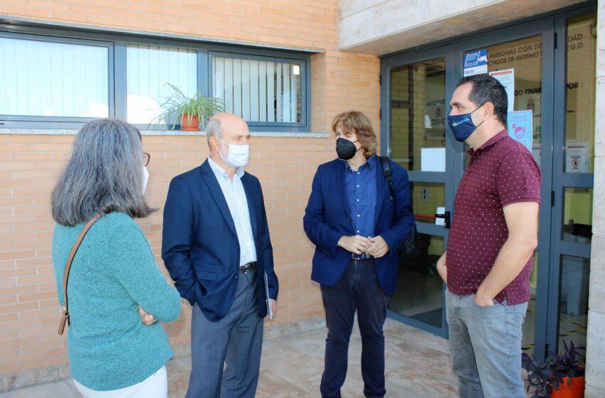 El director general de Programas de Empleo visitó la sede de Autrade en Ciudad Real