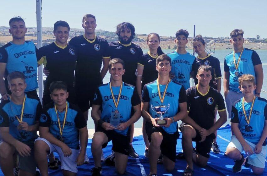 El Club de Kayak Polo Valdepeñas en el Campeonato de España SUB-21 y SUB-16