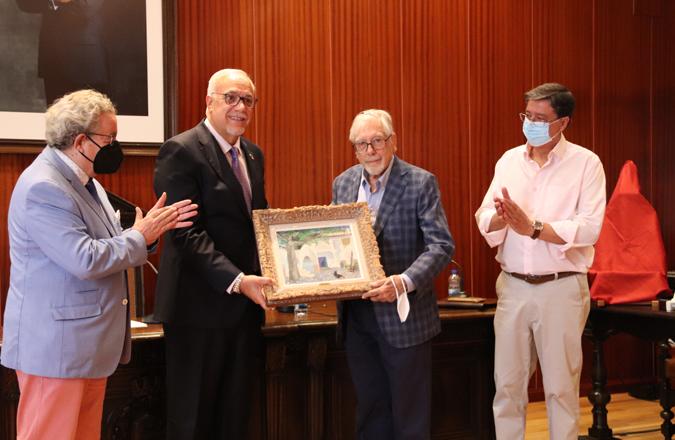 Manzanares incrementa su patrimonio pictórico con un óleo de Rafael Botí
