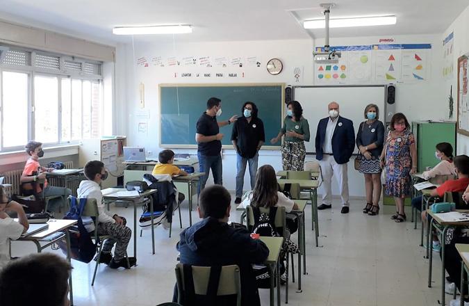 El Gobierno de Castilla-La Mancha conciencia sobre una movilidad sostenible al alumnado del CEIP 'Ignacio de Loyola' de Calzada de Calatrava