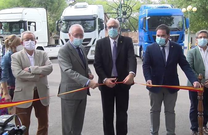 Inaugurada la III Feria Nacional de Vehículos Industriales de Ocasión de Manzanares