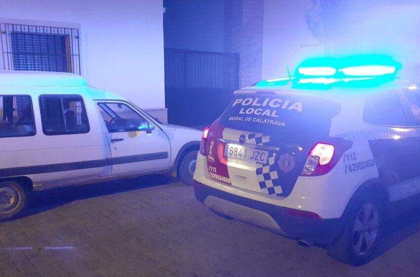 Cuatro jóvenes han sido detenidos por robo en el interior de vehículos en Moral de Calatrava