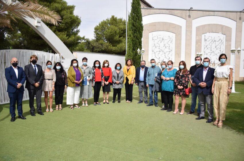 Patricia Franco ha asistido al acto de entrega de reconocimientos de la Fundación Cadisla en Tomelloso