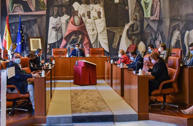 El Pleno de la Diputación se adhiere con una declaración institucional a la Red de Entidades Libres de Trata y Prostitución