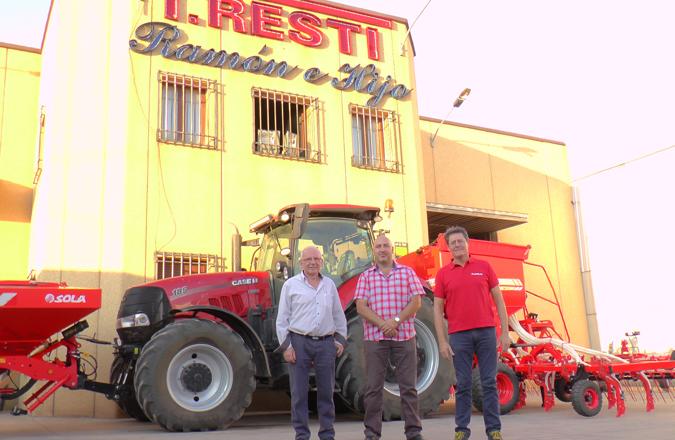 Talleres Resti Ramón e Hijo de Membrilla, celebró una jornada de puertas abiertas