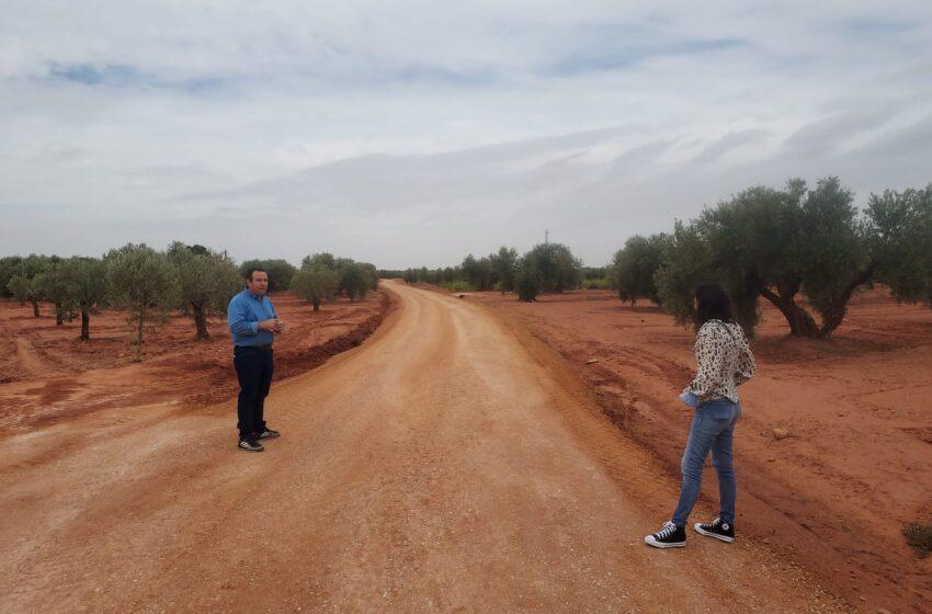Villanueva de los Infantes continúa con el arreglo de caminos y vías rurales