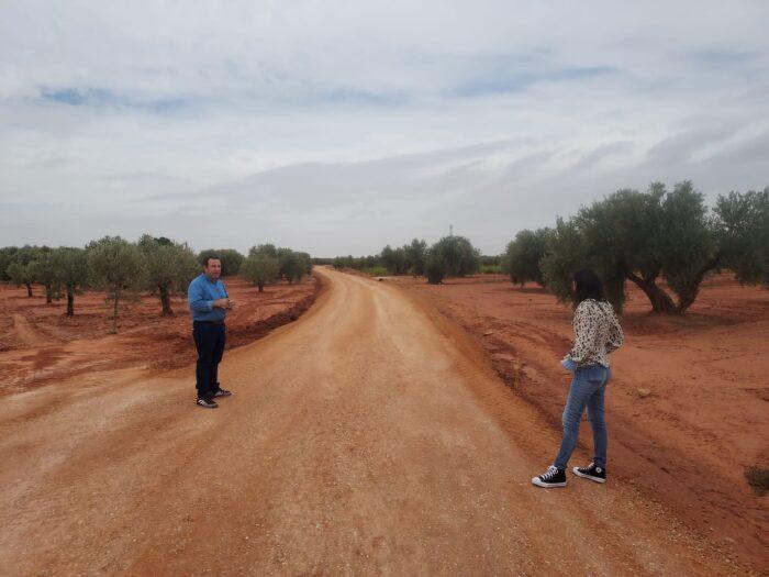 Arreglo de Caminos en Villanueva de los Infantes