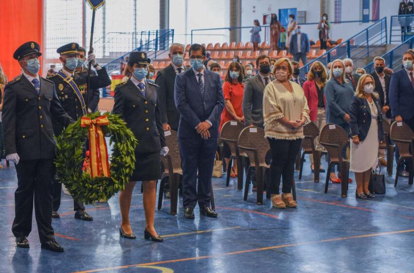 Caballero felicita a los hombres y mujeres que conforman el cuerpo de Policía Nacional en la celebración de su patrón, los Ángeles Custodios