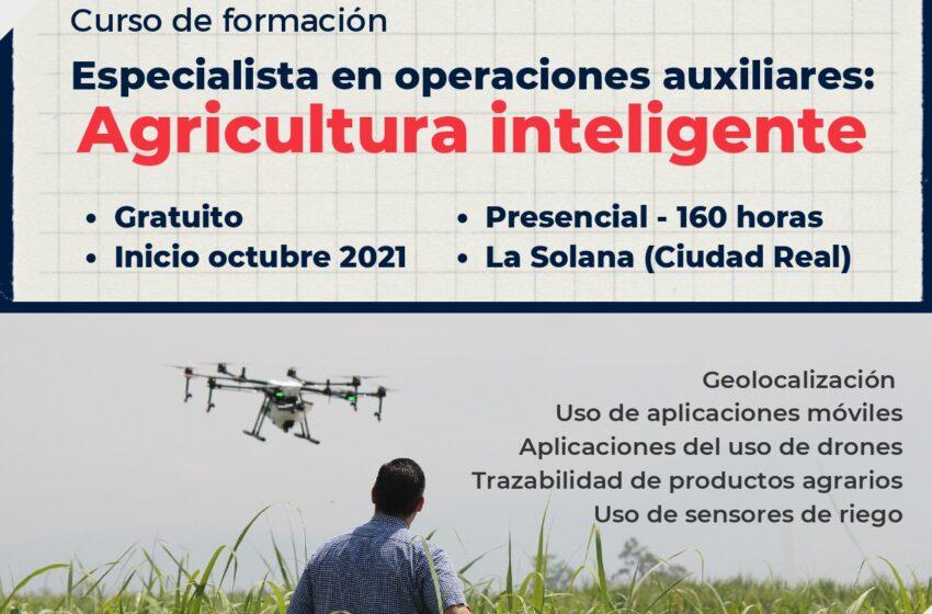"""Cruz Roja en La Solana recibe el apoyo de la Fundación """"la Caixa"""" y CaixaBank para la puesta en marcha de un curso de 'Agricultura Inteligente' dirigido a personas en desempleo"""