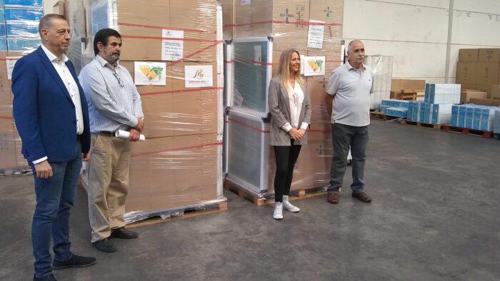 Envío de AJYPE a Las Palmas