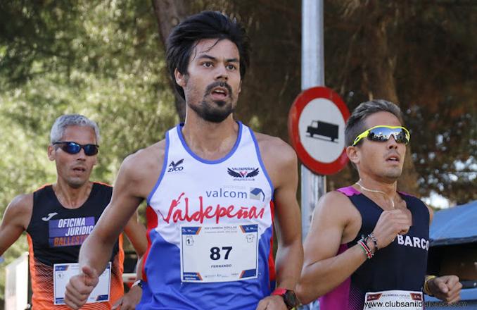 Buen papel de Fernando González en los «10 km en ruta Ciudad de Laredo»