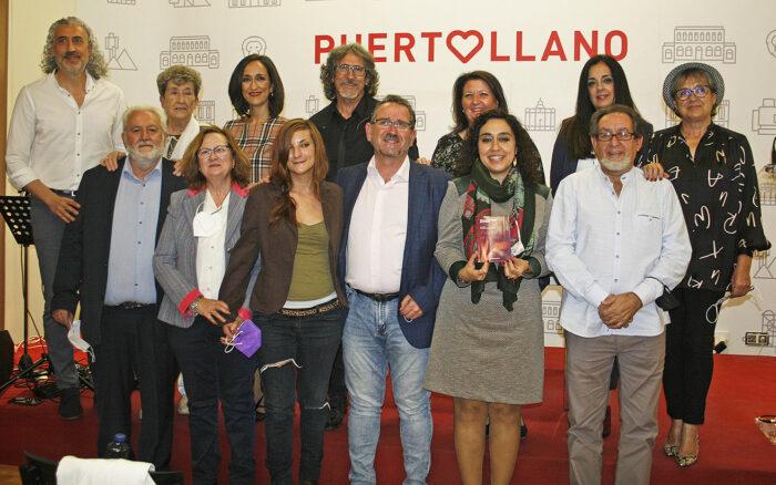 Participantes al recital 'Palabras en silencio' en Puertollano