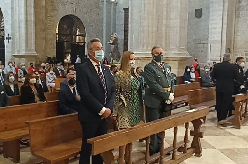 La compañía de la Guardia Civil en Valdepeñas celebra su patrona la Virgen del Pilar