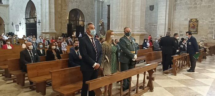 La Guardia Civil celebra su patrona la Virgen del Pilar en Valdepeñas