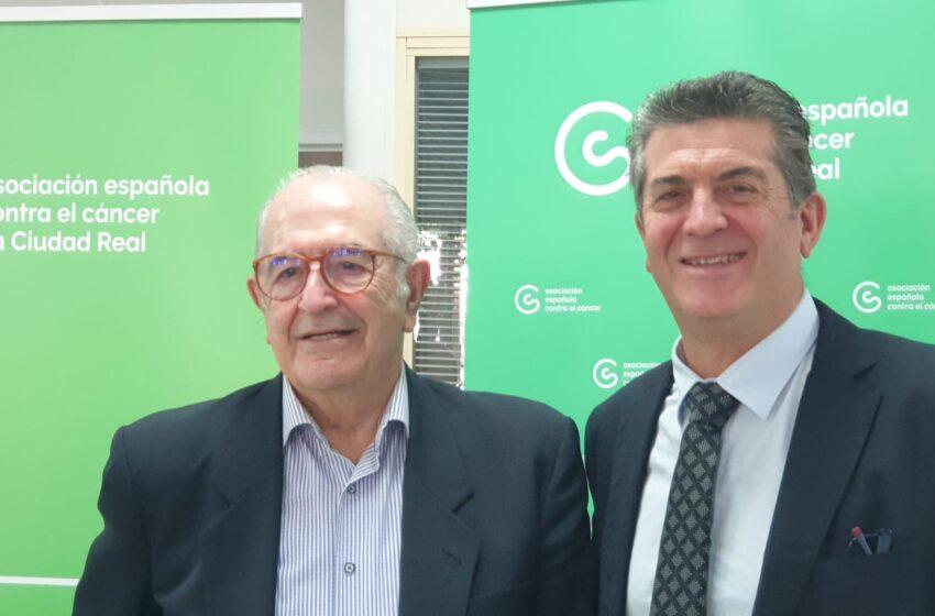 Marciano Sánchez, nuevo presidente de la Asociación Española Contra el Cáncer en Ciudad Real