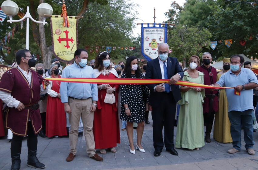 Los Paseos del Río de Manzanares volvieron a la época medieval durante el fin de semana