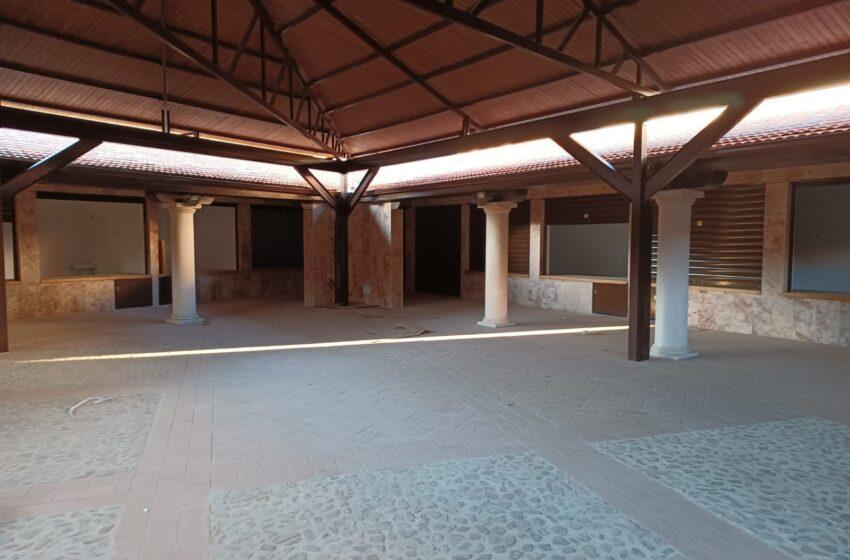 Moral de Calatrava inaugura el mercado municipal después una reforma integral