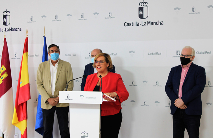 La delegada de la Junta resalta el progreso de la provincia de Ciudad Real y de la comunidad autónoma de la mano del presidente García-Page